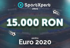 "SportXpert ""lovește"" cu premii de 15.000 RON la Euro 2020"